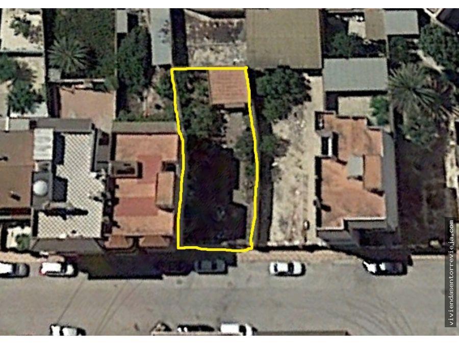 331 parcela para construir en jacarilla