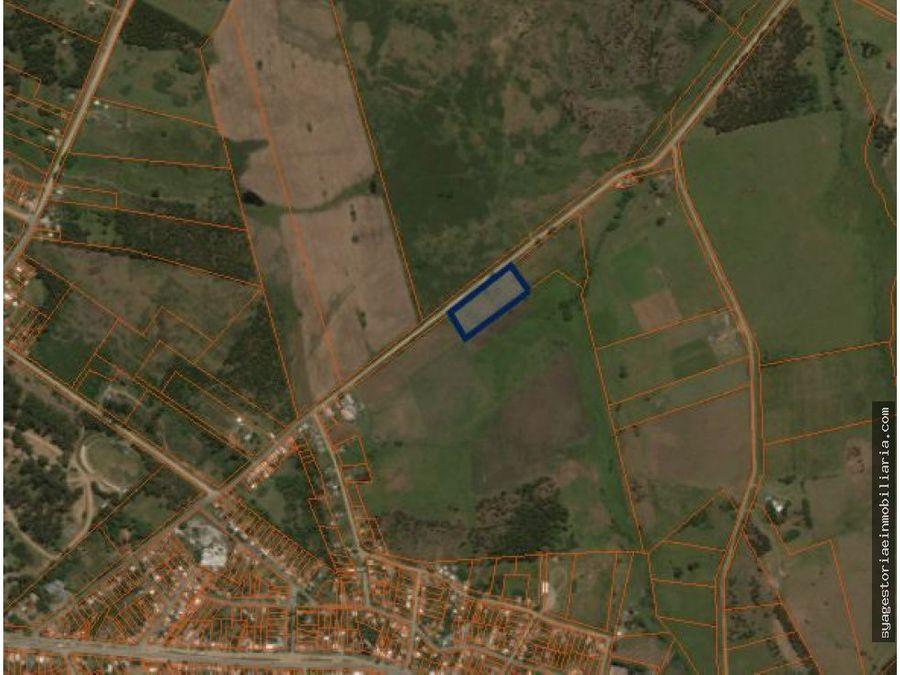 terreno en venta 2 padrones minas lavalleja