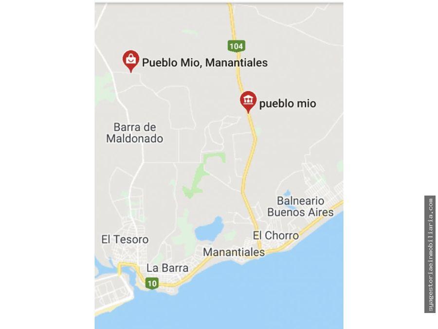 terrenos en venta pueblo mio