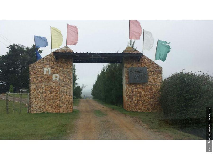 terrenos en venta villa serrana minas