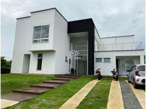 venta casa campestre condominio verde horizonte jamundi