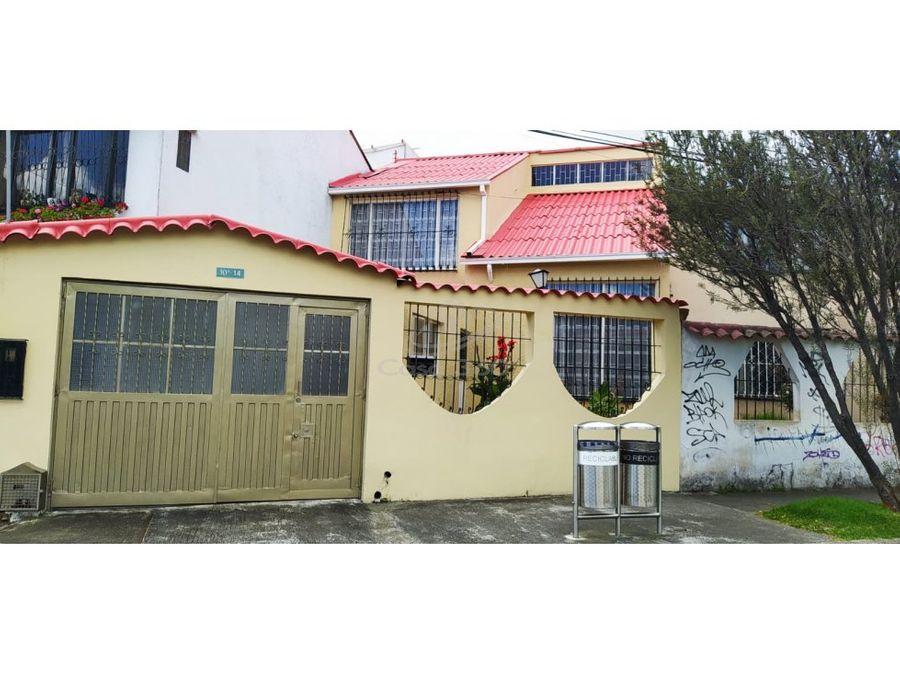 venta de casa en ciudad berna bogota