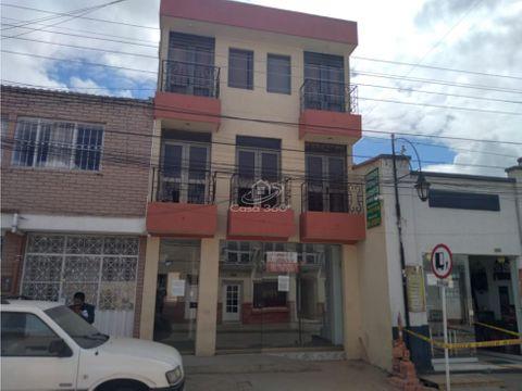 venta edificio centro historico tunja