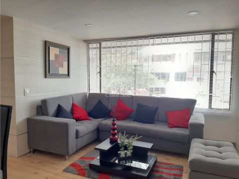 arriendo apartamento amoblado en santa barbara occidental