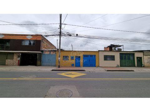 casa en venta lote en funza barrio mexico