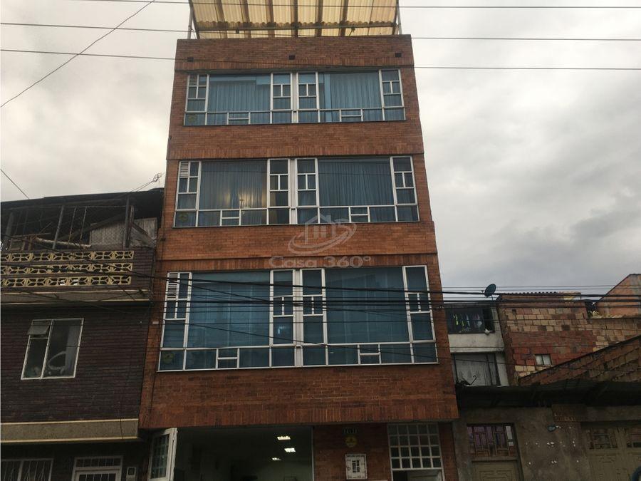 venta de casa multifamiliar el muelle engativa 5 pisos
