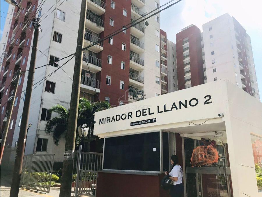 venta de apartamento en mirador del llano ii tercer piso