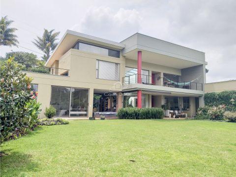 venta de casa campestre en llanogrande