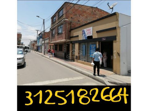 lote comercial tipo 1 y tipo 2 soacha centro excelente ubicacion