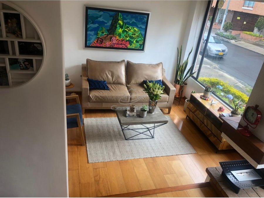 venta apartamento duplex en santa barbara occidental bogota