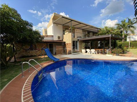 venta hermosa casa campestre en paraiso la morada jamundi
