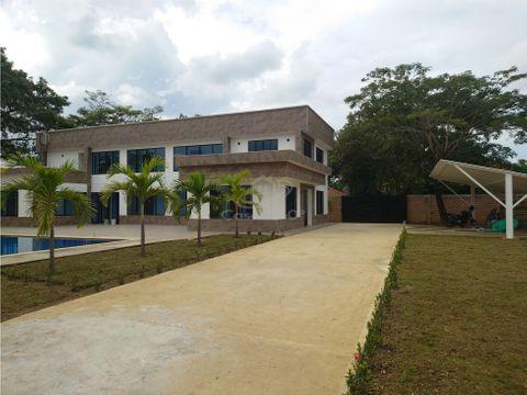 venta casa campestre nueva para estrenar en la morada jamiundi