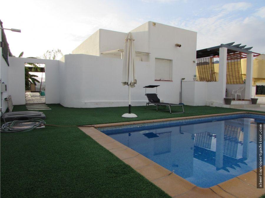 chalet piscina privada turre