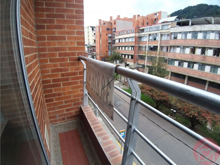 apartaestudio arriendo la macarena balcon bogota