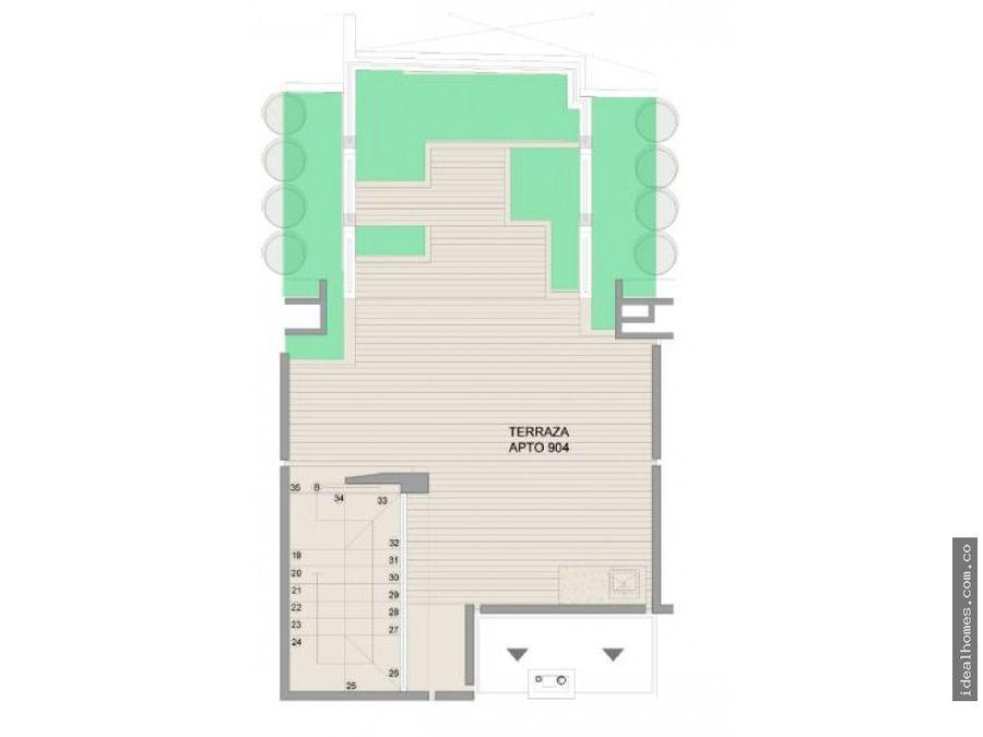 apartamento terraza venta quinta camacho bogota