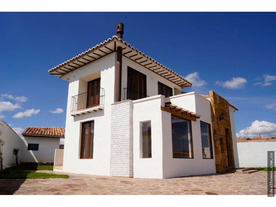 casa venta villa de leyva