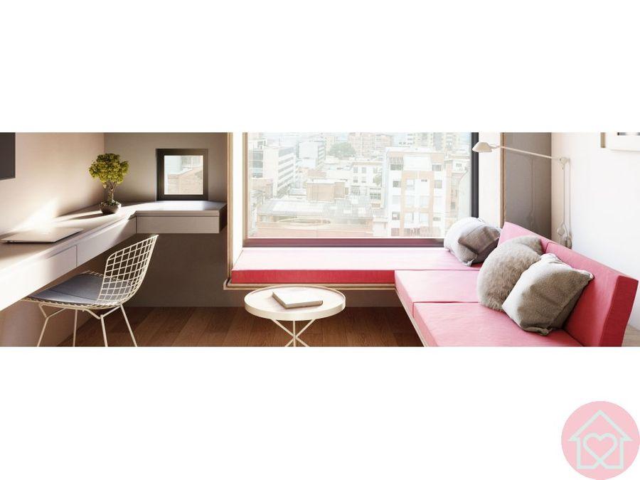 apartamento chapinero alto proyecto amoblado bogota