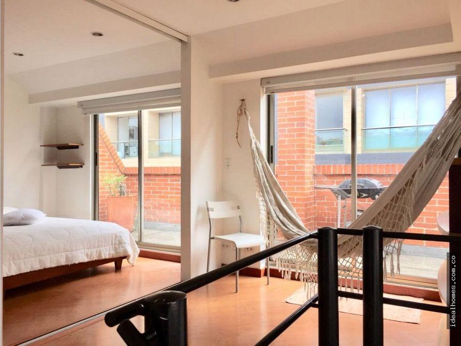 apartamento arriendo amoblado terraza chico