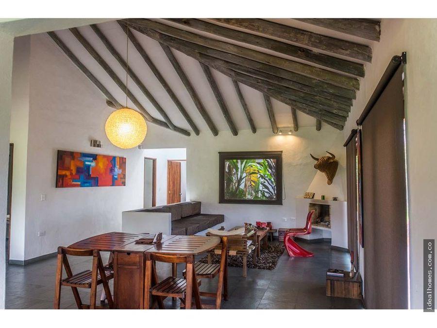 casa campestre venta villa de leyva