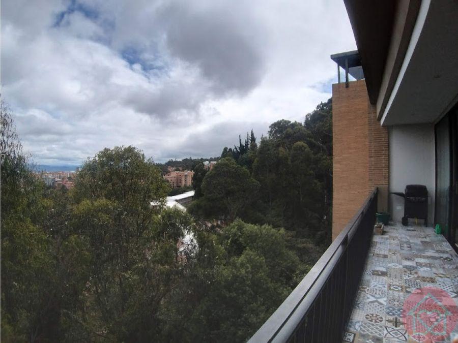 apartamento amoblado balcon arriendo bella suiza bogota