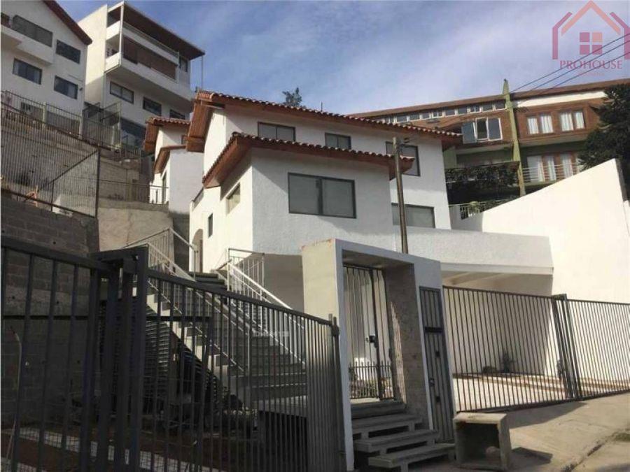 se vende moderna casa en vina del mar alto