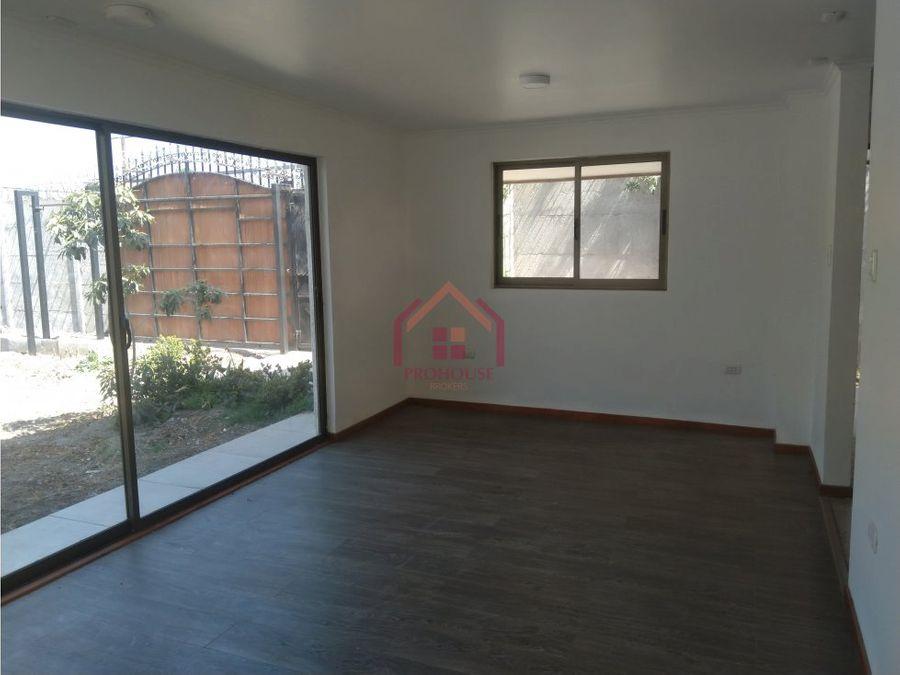 venta casa nueva sector la palma quillota