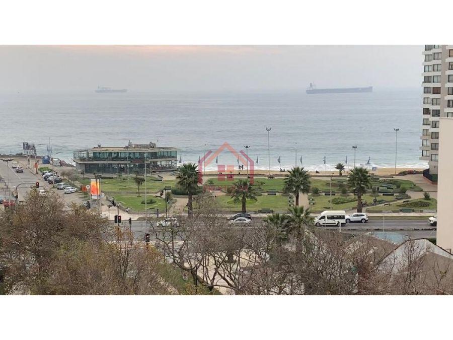 se vende departamento vista al mar en sector ponientevina del mar
