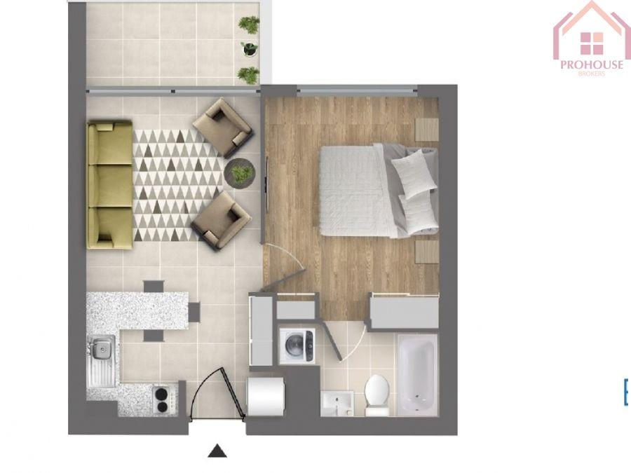 venta de departamento un dormitorio costa de montemar