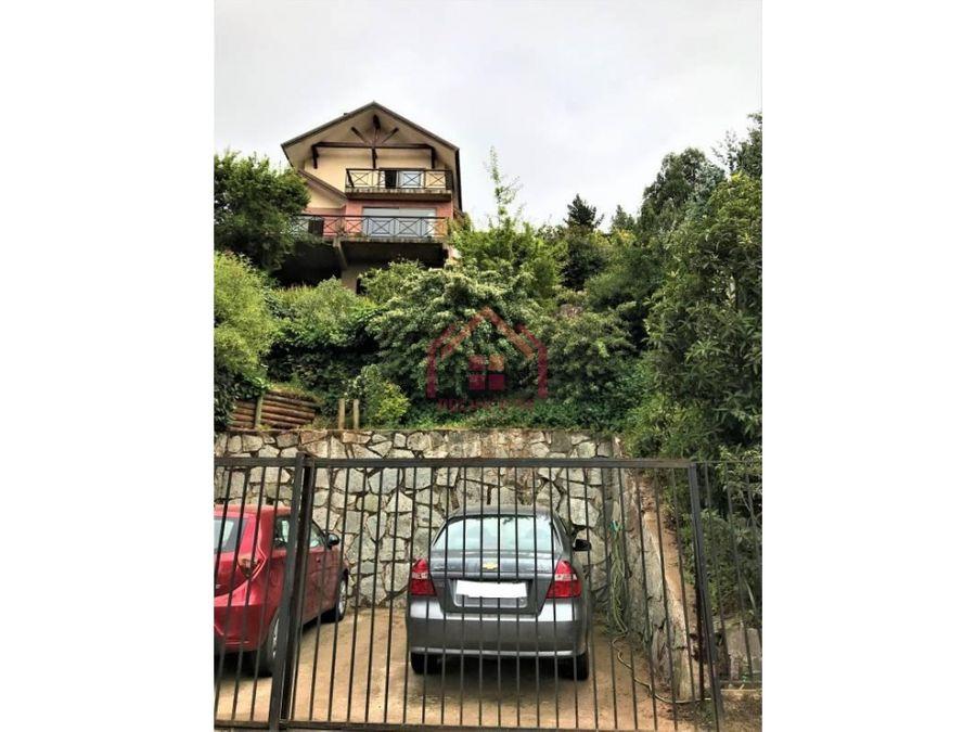 se vende hermosa casa en los almendros renaca