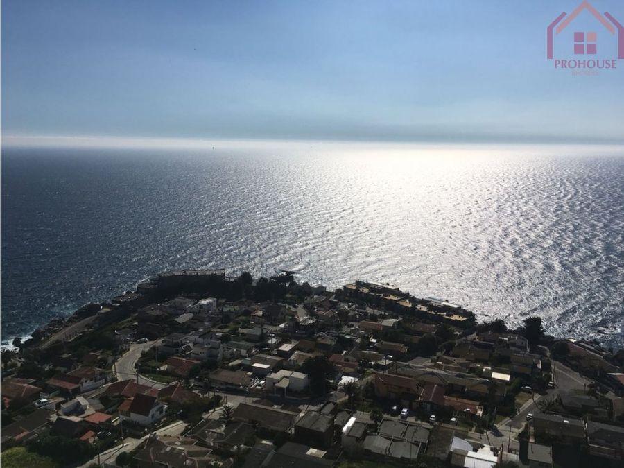 costa de montemar concon completa vista al mar