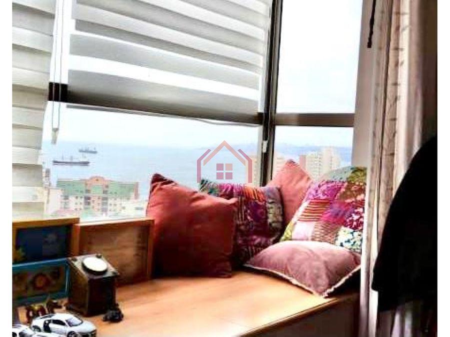 se vende departamento con vista al mar en recreo vina del mar