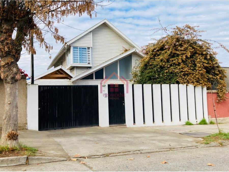 hermosa casa en venta en limache