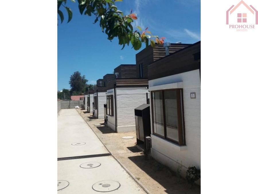 casas aisladas condominio estacion penablanca