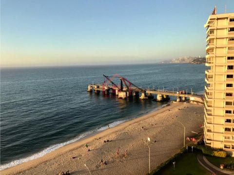 se arrienda departamento amoblado playa acapulco 9 norte vina del mar