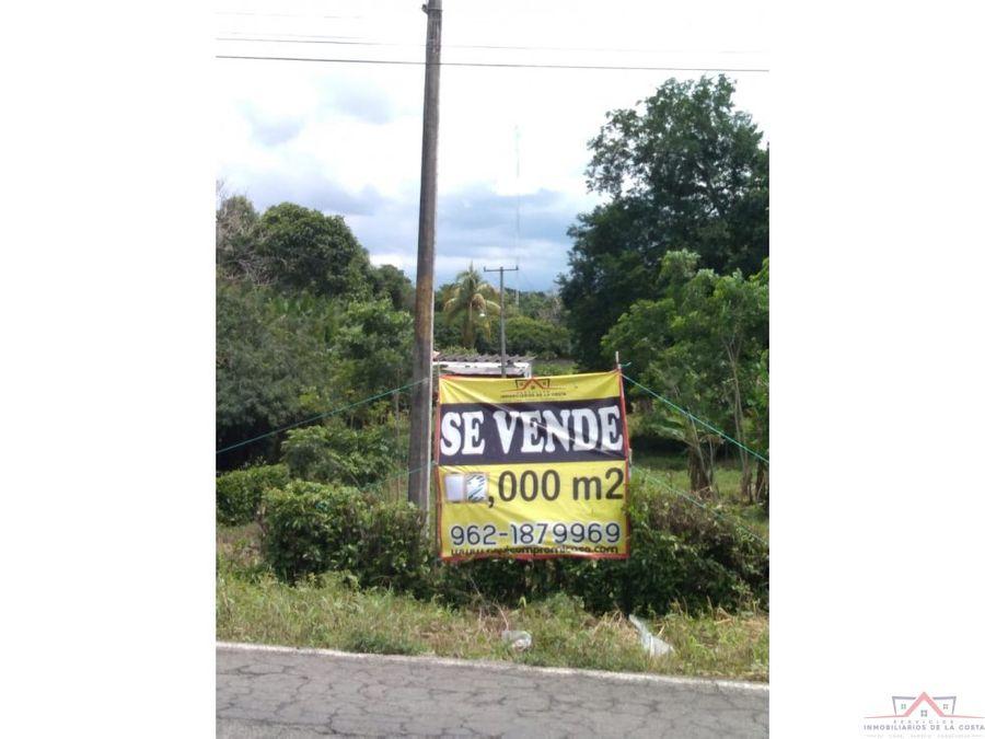 se vende terreno en san isidro metapa chiapas
