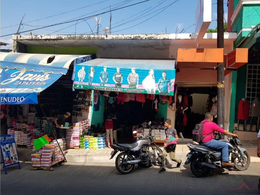 local comercial en venta en 7a poniente tapachula