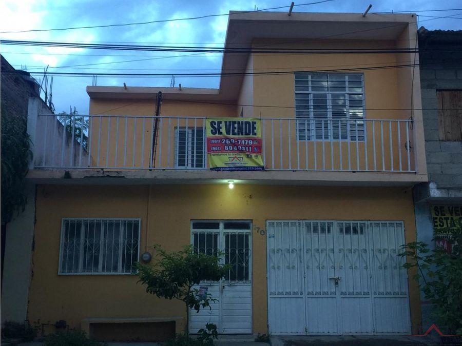 se vende casa en col unidad chiapaneca
