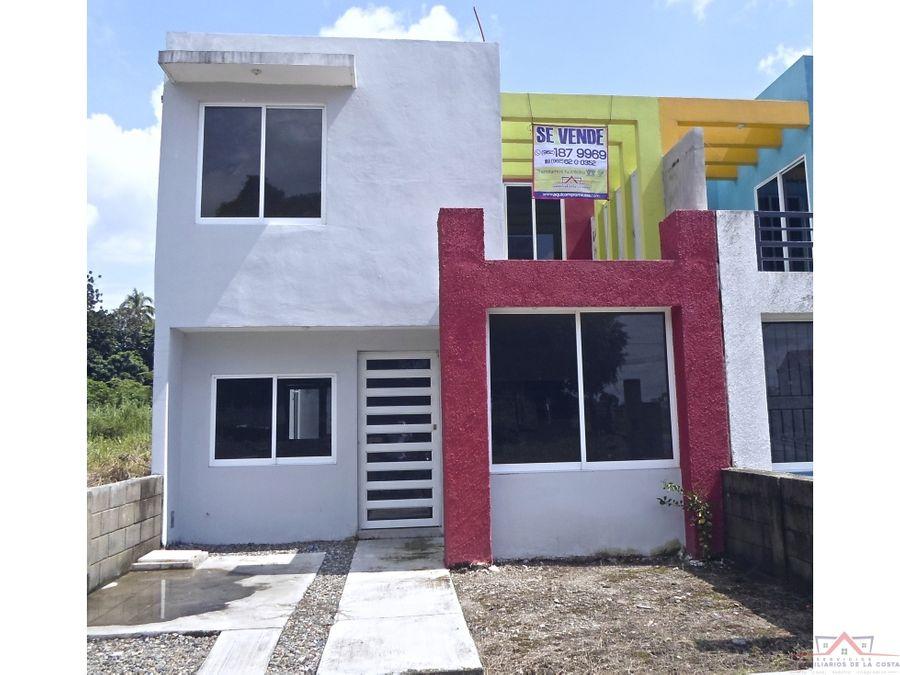 se vende casa nueva en fraccionamiento la arbolada tapachula