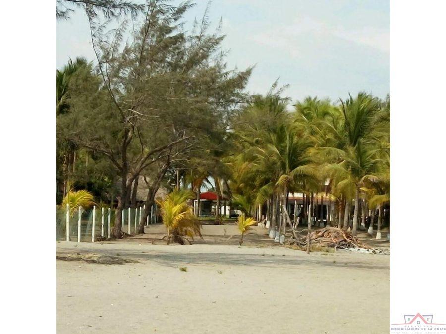 se vende palapa en playa linda tap