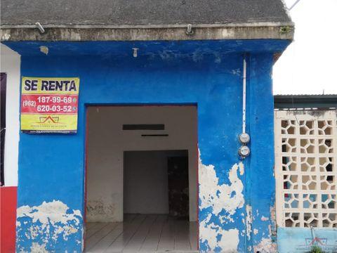 local comercial en renta en 11 oriente tapachula