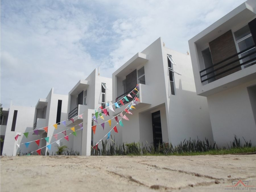 casas nuevas fraccionamiento privado punta diamante