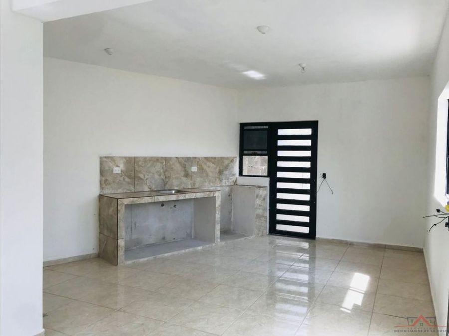 se vende casa nueva en colonia morelos