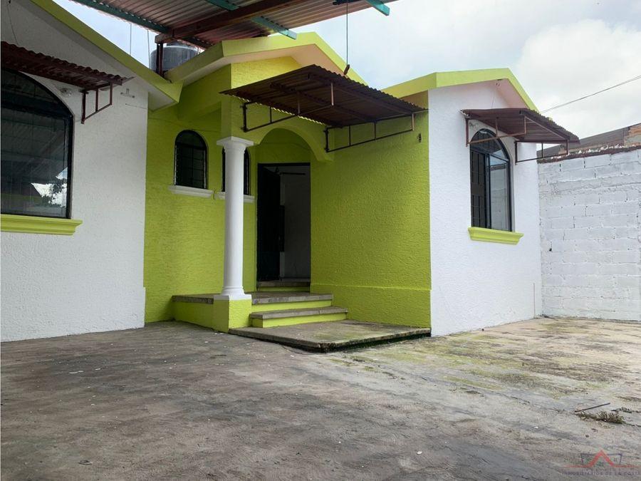 se vende casa en colonia reforma
