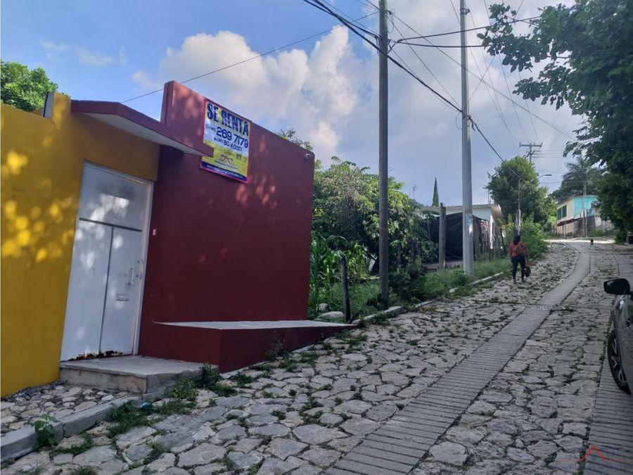 casa en renta amueblada en rivera cerro hueco