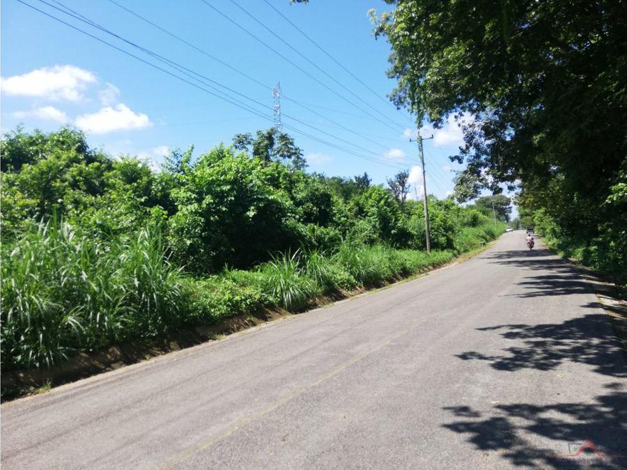 terreno en venta camino tuzantan