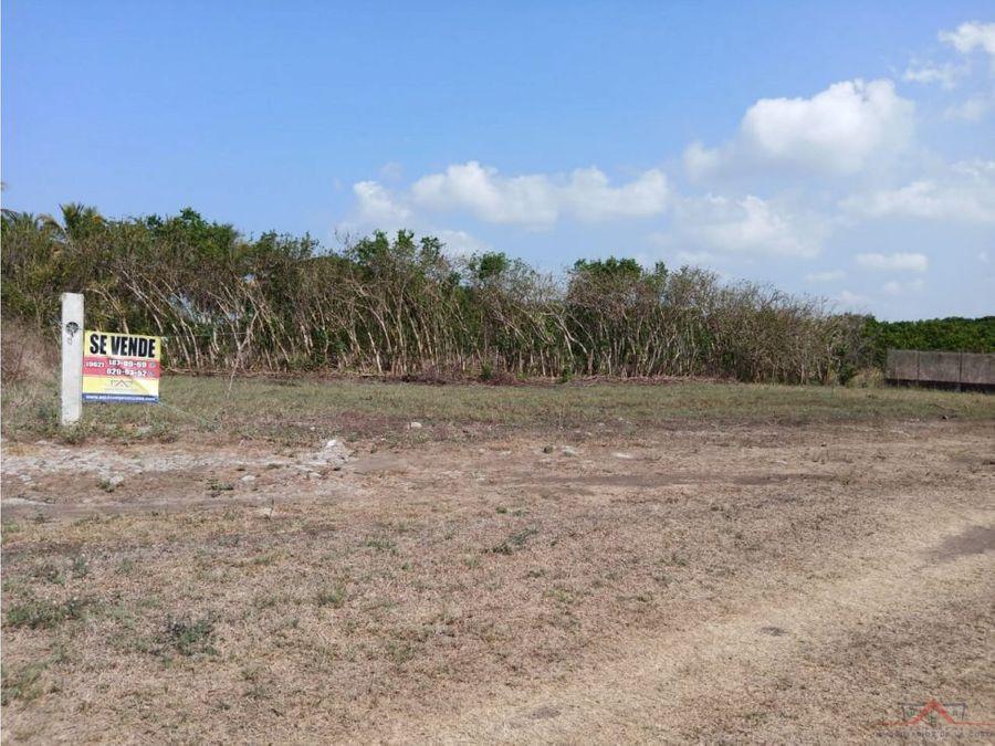 venta de terreno en playa linda