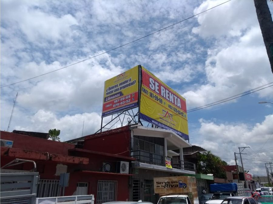 anuncio espectacular en 17 calle oriente