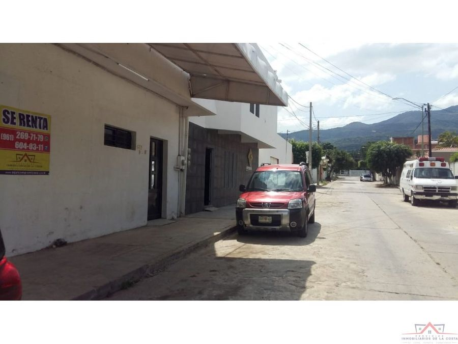 local en renta xamaipak tuxtla gutierrez