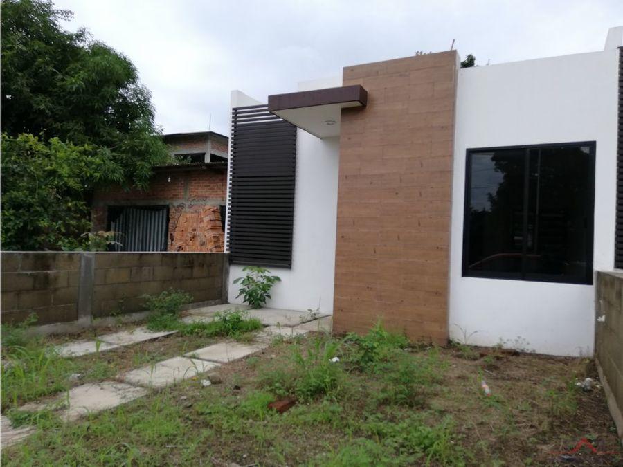 casa en venta en san jorge tapachula