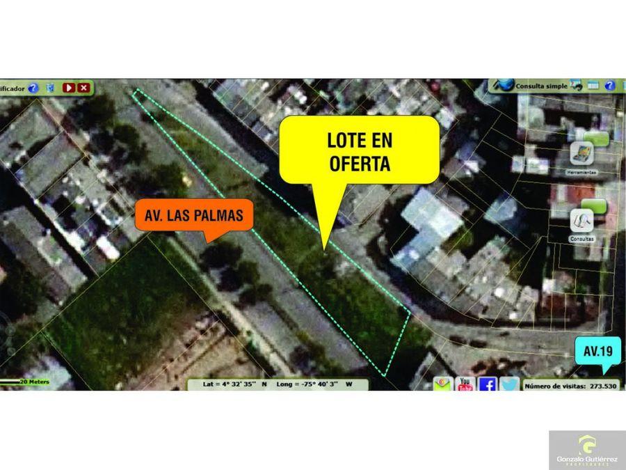 lote urbano centro occ armenia palmas 910